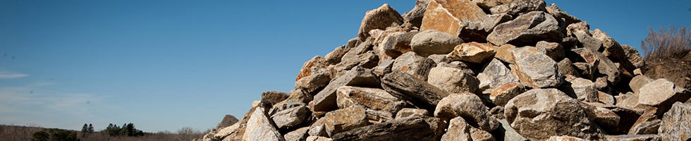 Wall Stones and Boulders
